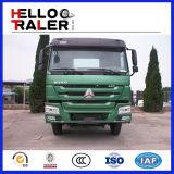 HOWO 336HP 필리핀을%s 무기물 원동기 트럭 10 바퀴