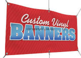 Выполненное на заказ знамя качества, печатание знамени сублимации краски петли, Washable знамя ткани