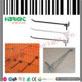 Crochet convenable d'affichage de Palting Slatwall de zinc de système