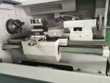 Torno pneumático de giro Ck6136A-2 do mandril da máquina do torno do CNC de China