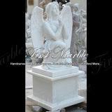 Marmeren HerdenkingsGedenkteken mem-084 van Carrara van het Graniet van de Steen Herdenkings Herdenkings Wit