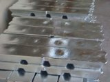 Lingot 99.7% d'Al d'usine
