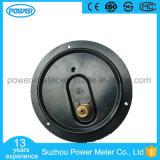 150mm schwarzer Stahlfall-Flansch-untererer Anschluss-Druckanzeiger