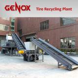 タイヤのリサイクリング・システムかラインをリサイクルするか、または機械をリサイクルすること