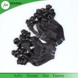 最も良いバージンの毛の加工されていない人間の毛髪を搭載するAofaブラジルのFumiの毛