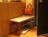 Tamborete de madeira contínuo da sala de visitas (M-X2171)