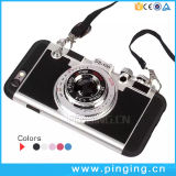 PC+Silicone de Dekking van de Telefoon van de Cel van de Camera voor iPhone 6/6s plus