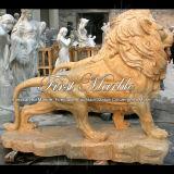 Desert Gold Lion para decoração de casa Ma-223