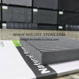 Tuile décorative de basalte de tuile de mur de revêtement de tuile de mur Grooved de construction