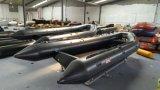 barca gonfiabile di 5.2m, barca della nervatura, peschereccio, PVC o barca Rib520A di sport di Hypalon con il guscio di alluminio