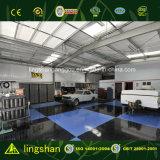 Taller prefabricado moderno de la reparación del coche del garage del bajo costo