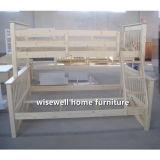 Madeira de pinho Triple Bunk Bed Modern Bedroom Furniture (WJZ-B71)