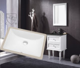 Le Hot Sale Cupc Rectangular Undermount Bathroom Sink aux Etats-Unis Market (SN018)