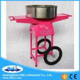 Máquina automática elétrica profissional dos doces de algodão do fabricante de Floss dos doces da flor com preço do carro