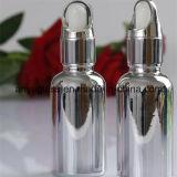 El cuentagotas de electrochapado de las botellas de cristal del petróleo esencial del color embotella 15ml, 30ml