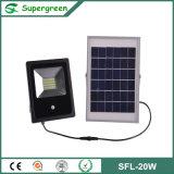 Hohe flut-Licht-Rasen-Lampe des Helligkeits-Bewegungs-Fühler-10W-30W Solar