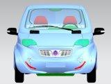 Voiture de sport électrique de fibre de carbone avec la gamme 350km par charge