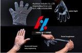 Устранимые перчатки пластмассы PE сложенные 2PCS в парах