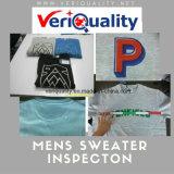De betrouwbare Dienst van de Inspectie van de Kwaliteitsbeheersing voor Mens Brookport/de Sweater van de Bemanning van Pieken