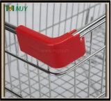 Supermarkt-Einkaufswagen verzinkt mit freier Beschichtung Mjy-80ah2