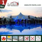 Tenda di alluminio per la grande tenda di cerimonia nuziale della tenda foranea con la pavimentazione e il Courtains