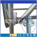 Échafaudage en acier galvanisé de Ringlock à vendre d'usine de la Chine