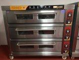 ベーキングパンおよびケーキ(WQL-Y-3B)のための9つの皿のガスのデッキのオーブン