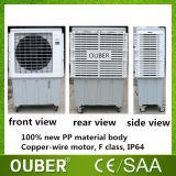 Tipo portable refrigerador evaporativo del soporte del suelo del refrigerador de aire de Dubai del desierto