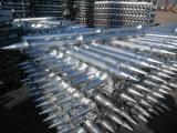 Parafuso à terra galvanizado da montagem MERGULHO elevado solar