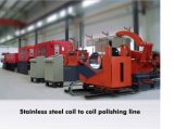 Edelstahl Coil zu Coil/Sheet zu Sheet No.4 Hairline Grinding Finishing Line
