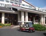 赤6のシートの電気ゴルフ観光のカート(LTA4+2)