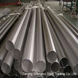 Qualidade superior tubulação de aço inoxidável soldada (316Ti)