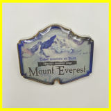 El mejor recuerdo que viaja - Pin plateado oro de la presa de Hoover