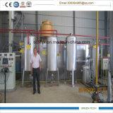 tecnologia aggiornata pianta di riciclaggio dell'olio residuo da 5 tonnellate a diesel