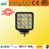 12V 48W DEL Work Light Waterproof IP67 Lamp Car DEL pour ATV, SUV, Truck, Jeep Nsl-4816A-48W