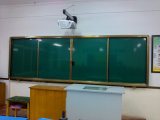 Vaious Sliding Whiteboard Chalkboard Green Board per School Teaching