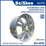 L'alliage d'aluminium borde des roues pour après le marché