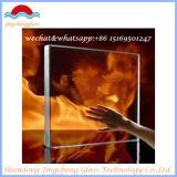 Однослойное Tempered пожаробезопасное стекло
