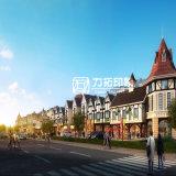 Stad die Buiten Architecturaal Teruggevend Project plannen
