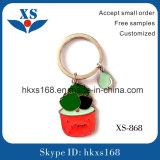 Farbe gefüllte Metallförderung Keychain