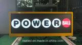 Afficheur LED de dessus de taxi du Brésil P5 extérieur millimètre avec des performances 3D