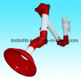 braços de sugação flexíveis dos PP do diâmetro de 75mm para o sistema da extração das emanações