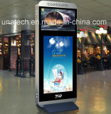 étalage de publicité d'intérieur de Signage d'affichage à cristaux liquides Digital du joueur 65/84inch avec le bâti en aluminium