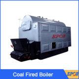 en vente charbon vapeur de 8 tonnes chaudière allumée