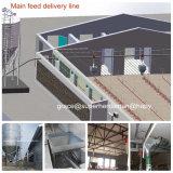 Equipamento automático da casa de galinha para a produção da grelha