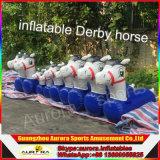 De nieuwe Gebeëindigde Opblaasbare Paardenrennen van de Derby van het Spel van het Ras Opblaasbare