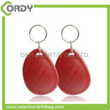 Keyfob barato plástico da manga RFID tk4100 do LF 125kHz /HF 13.56MHz RFID