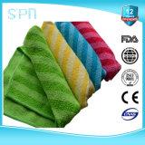 Bloco material misturado da toalha de limpeza de Microfiber