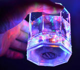 Copo leve plástico do diodo emissor de luz 400ml do artigo popular da barra