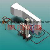 Línea de capa favorable al medio ambiente del polvo de la alta calidad para el depósito de gasolina